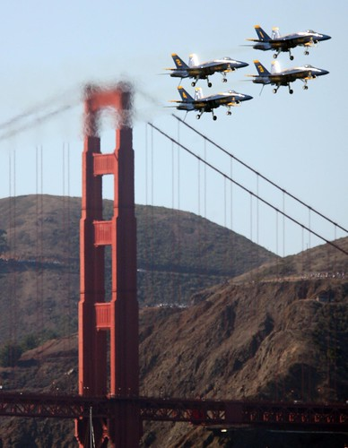 Blue Angels (Jane Tyska/Oakland Tribune)