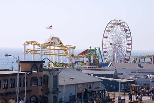 Santa Monica Pier and Beach 50