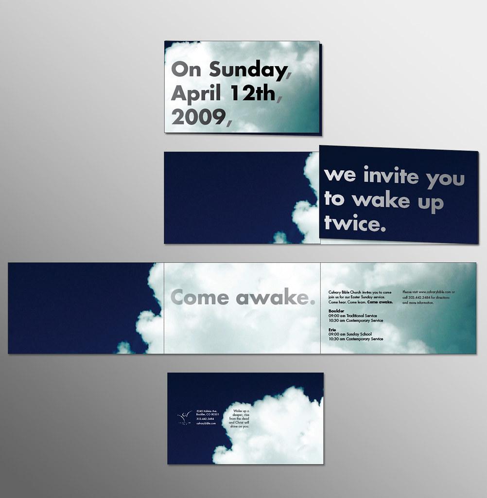 Come Awake invite 1 -- Wake x2