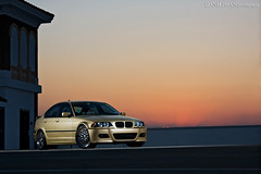 Shaniqua (Danh Phan) Tags: light canon gold metallic replica bumper bmw pocket m3 tamron wizards e46 323i 2875 40d dphan nostrobistinfo danhphancom