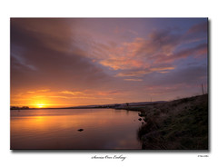 Sunrise over Embsay (SteveMG) Tags: longexposure lake sunrise landscape yorkshire smg tarn picturesque yorkshiredales 10mm embsay eos50d