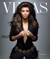 kim kardahian vegas magazine