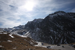 Driving down to Sölden, Austria
