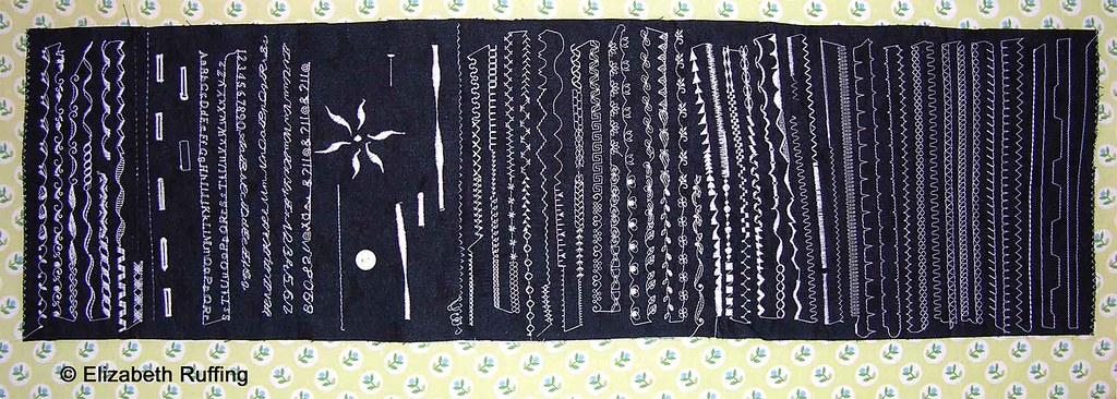 Viking Platinum Stitch Sampler