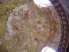 Qsair Amra.Fresco paintings