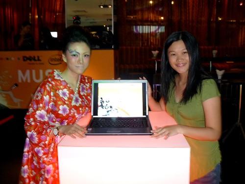 Me and Dell's geisha.