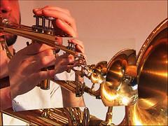 dischord (UnclePedro) Tags: music trumpet escher