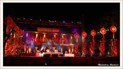 Main Stage - Hampi Utsav 2008 (Nagaraj B R) Tags: music india festival canon dance culture hampi 450d bwsnov2rd4thhampi hampiutsav2008 utsava2008