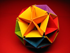 Little Geode (fdecomite) Tags: geode dodecahedron tomoko fuse polyhedron polyhedra