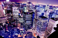 THE CITY (Tony Shi.) Tags: nyc newyorkcity building skyline skyscape jungle empirestate bryantpark topoftherock skyscaper midtownmanhattan     concretesteel   thisisthecity bofatower sony1118 sonya700    thnhphnewyork  tonyshi
