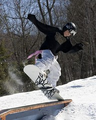 - Blue Mountain PA snowboard