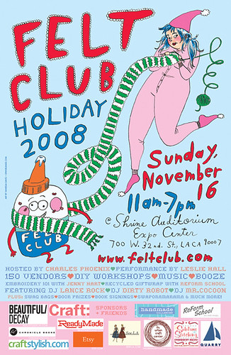 Felt Club poster
