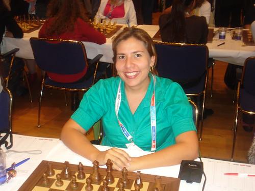 3r tauler femení dEquador, Evelyn Moncayo