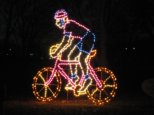 Holiday bike decoration by webcompanion.