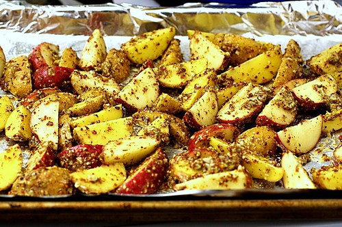 mustard-roasted potatoes | smitten kitchen