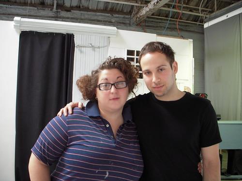 Constantina Zavisanos and David Romberg