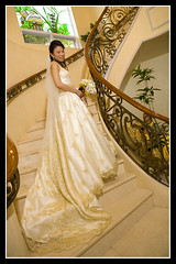 Jason & Shelly's Wedding (choui168) Tags: wedding bride staircase cebu cebusugbo