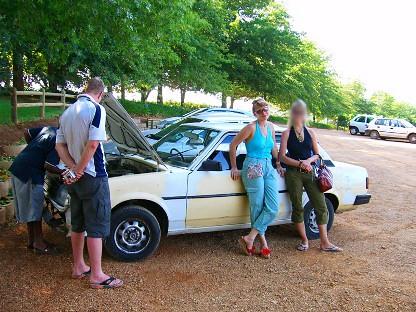 Необыкновенные приключения русских в ЮАР, часть 5, Самая, самая ...страшная!, авт DIK DIK.