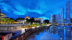Singapore Blaze of Glory - As Dawn breaks out ! (Ragstatic) Tags: city longexposure travel light people urban holiday color building tourism architecture composition buildings relax landscape lights design photo google search singapore asia exposure cityscape dof view nocturnal angle heart designer famous perspective culture visit tourist calm structure explore architect photograph destination serene cbd depth nocturne dri singapura stockphoto centralbusinessdistrict singaporecityscape uniquelysingapore singaporelandscape singaporeview