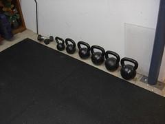 Fe (JohnCalnan) Tags: winter training kettlebells stallmats