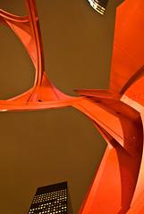 Transformers Defenders (janbat) Tags: light red sky sculpture paris buildings rouge nikon lumire tokina ciel d200 f4 ladfense 1224 acier immeubles alexandrecalder jbaudebert