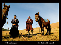 MONGOLIA (BoazImages) Tags: life travel horses men portraits asian colorful asia central culture documentary lifestyle mongolia nomad remote tradition grasslands nomads mongol nomadic boazimages goldstaraward flickrgettyimages