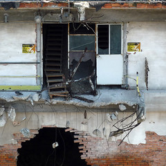 today (duineser) Tags: ruins demolition anger rovine rabbia demolizione macerie