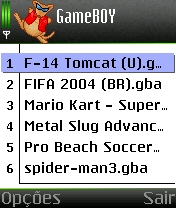 Emulador vbag para Symbian s60