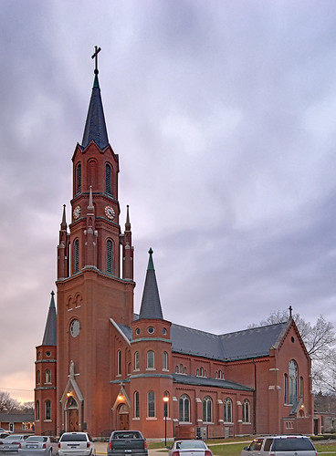 Saint Mary Roman Catholic Church, in Carlyle, Illinois, USA - exterior 1