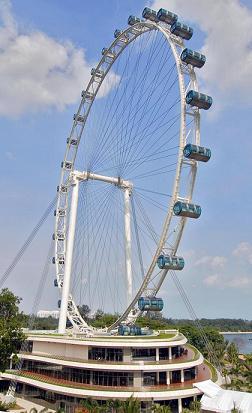 The Singapore Flyer (picture via Wikipedia)