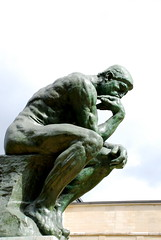 Thinker (Waqas S.) Tags: paris france statue thinker rodin thethinker museerodin