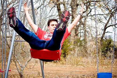 me on da swing