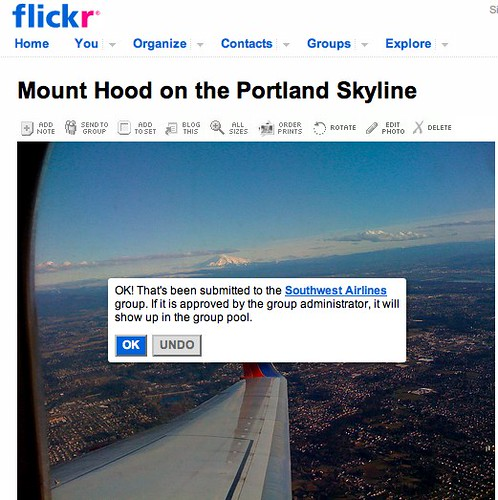 Mount Hood on the Portland Skyline on Flickr - Photo Sharing!