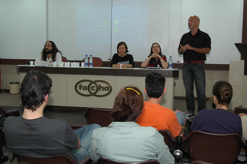 Ricardo Nunes, Monica Fernandes, Lêda Spelta e Horácio Soares