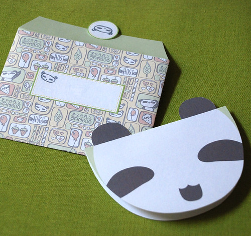 Happy Panda! printable Card