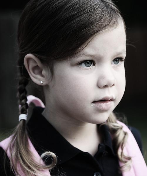 tessa grace, age 4 1/2