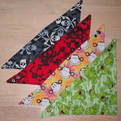 drool bandana patterns
