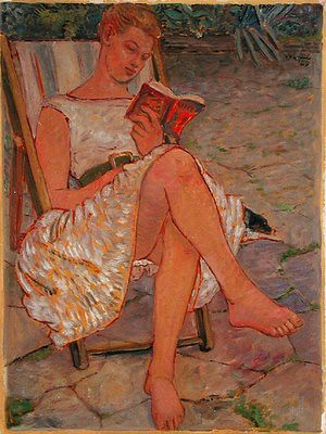 Peter Samuelson, Bridget Reading, 1959