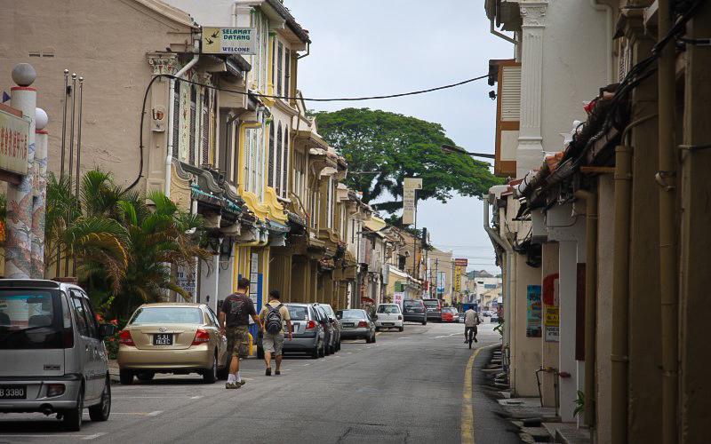 馬六甲的一條小巷