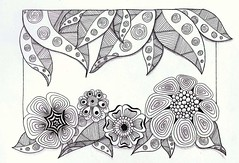 Bula (Jo in NZ) Tags: pen drawing line innk zentangle nzjo zendoodle