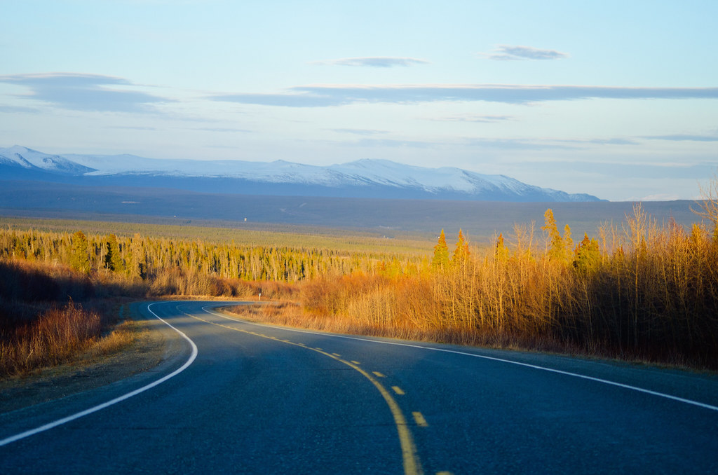 Driving in the Yukon