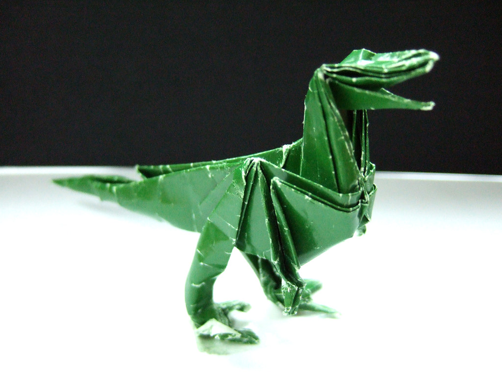 Dinosaurs Artificial Intelligence Origami Dinosaur Diagrams Deinonychus