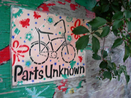 Parts Unknown Bicycle Shop, Toronto, Canada