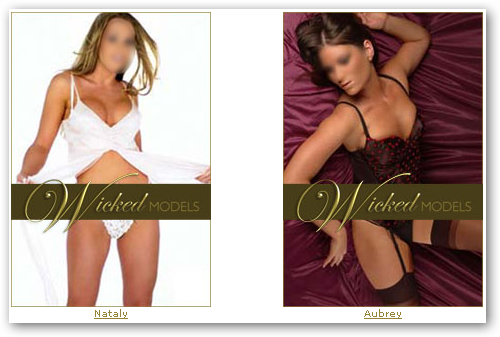 Nataly and Aubrey, Wicked Models