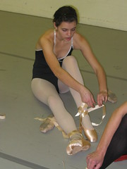 First Pointe Class Gr 6 Ballet 2008 (Carlson's School of Dance) Tags: school dance carlsons