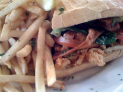 Crawfish & Bacon Po Boy...