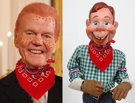 howdy doody show. Paul Harvey is Howdy Doody.