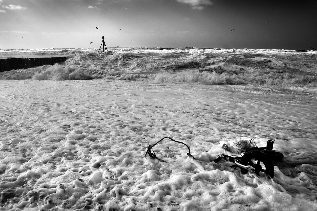 Seaford Storm spits out Kids Bike - East Sussex