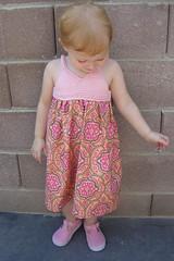 My little princess! (kathrynivy.com) Tags: pink girl knitting toddler child dress knit charm fabric bodice marmalade amybutler summerlin freepattern camdyn kathrynivy covingtontile