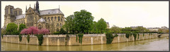 PARIS - Notre Dame (@lain G) Tags: panorama paris seine nikon pont hdr pontneuf iledelacit nikoncoolpix5600